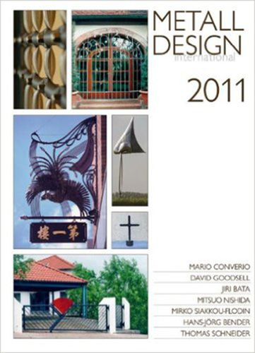 2011 International Metal Design Annual (Metall Design International 2011) by Peter Elgass