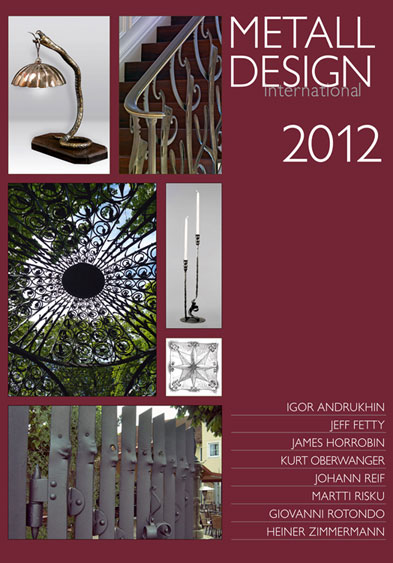2012 International Metal Design Annual (Metall Design International 2012) by Peter Elgass