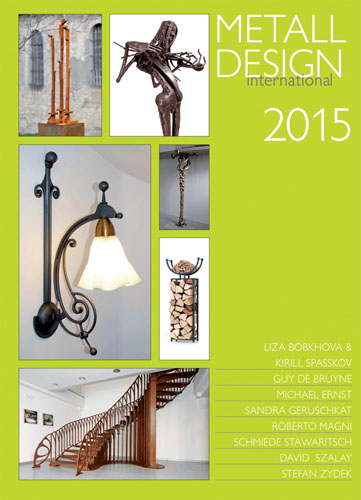 2015 International Metal Design Annual (Metall Design International 2015) by Peter Elgass