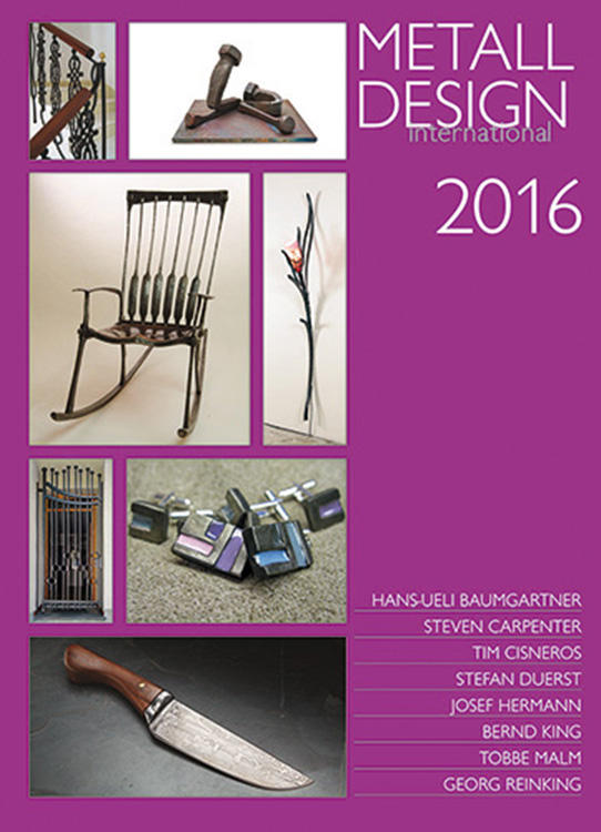2016 International Metal Design Annual (Metall Design International 2016) by Peter Elgass