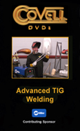 Advanced TIG Welding with Ron Covell (DVD)