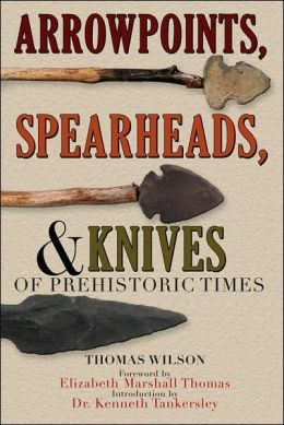Arrowpoints, Spearheads, and Knives of Prehistoric Times by Thomas Wilson