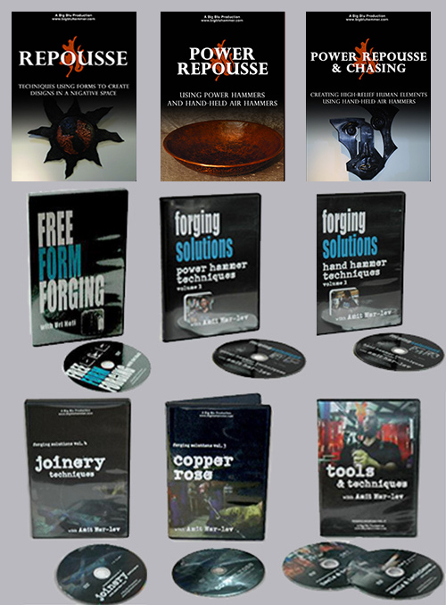 Blacksmith Super Saver DVD Library (9 DVD Blacksmithing Set)
