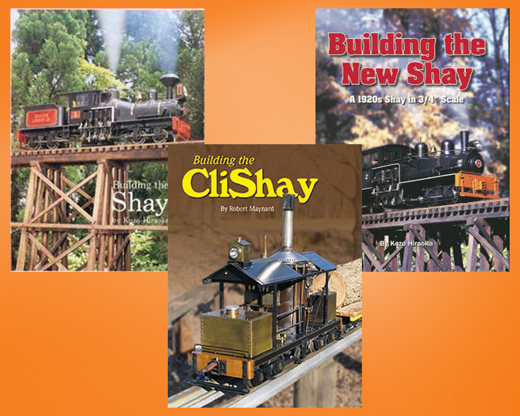 Build a Shay Locomotive (3 Book Set)