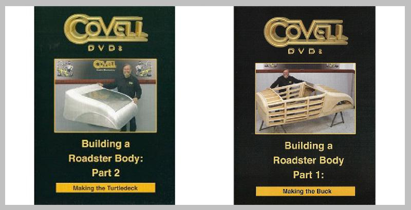 Building a Roadster Body Set with Ron Covell (DVDs Parts 1 and 2)