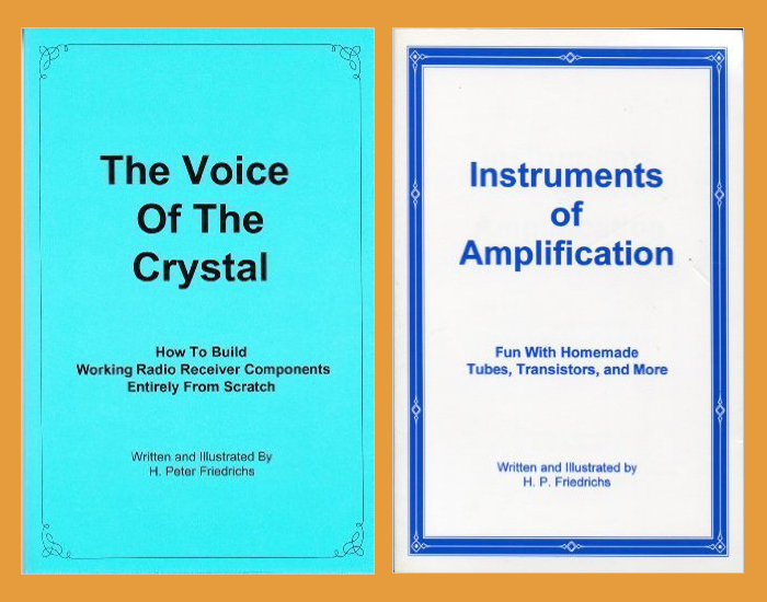 The Voice of the Crystal, plus, Instruments of Amplification 2 Book Set!