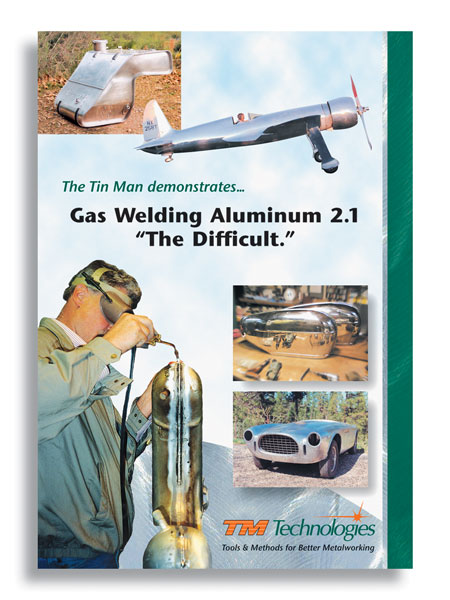 "Gas Welding Aluminum with Kent White Vol 2, ""The Difficult""  (2 DVDs)"