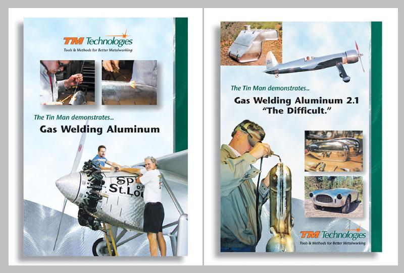 Gas Welding Aluminum, Beginning and Advanced with Kent White (2 DVD Set)