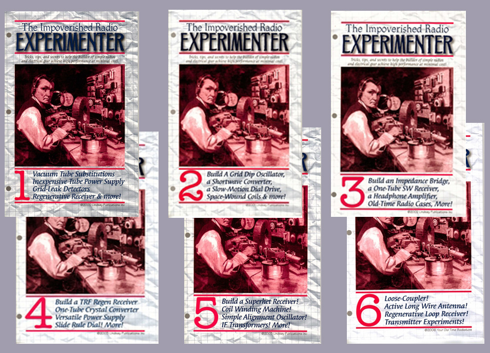 The Impoverished Radio Experimenter Series (All 6 Volumes)