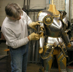 Armorer's Guild January 2005 Session (3 DVD Set!) with Joe Staley, Duane Wilkey and Dan Houchins - DVDs on Toolmaking, a 16th Century Garniture, and Hardened Leather Armour