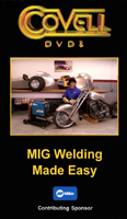 MIG Welding Made Easy with Ron Covell (DVD)  - With Ron Covell!