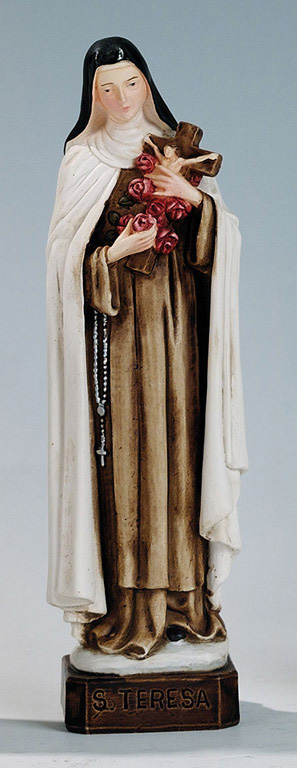 Saint Therese Statue - Made in Italy, Hand Painted, 6' Inches