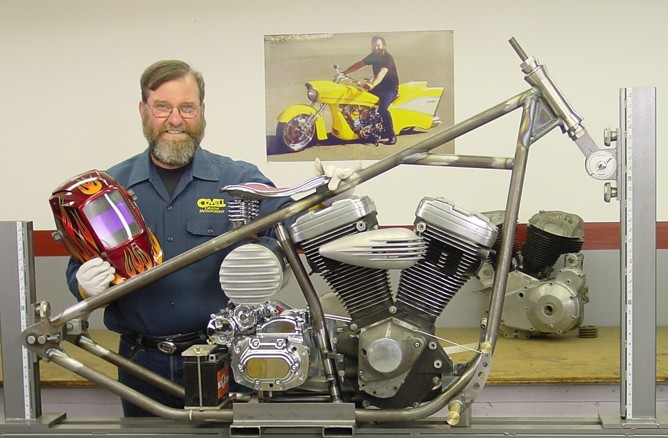Building a Chopper Chassis (DVD) with Ron Covell - With Ron Covell