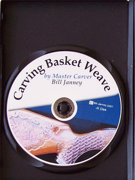 Carving Basket Weave with Master Carver Bill Janney (DVD)