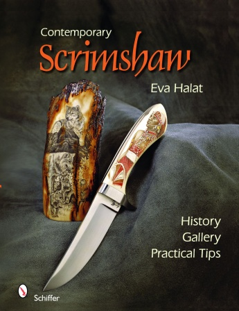 Contemporary Scrimshaw by Eva Halat