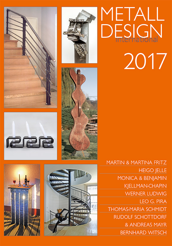 2017 International Metal Design Annual (Metall Design International 2017) by Peter Elgass