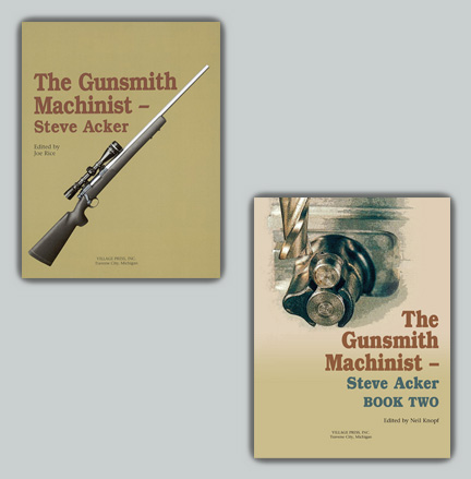 Gunsmith Machinist Set: Books I and II - Obtain both volumes at a savings!