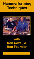 Hammerforming Techniques (DVD) - Featuring Ron Fournier & Ron Covell!!