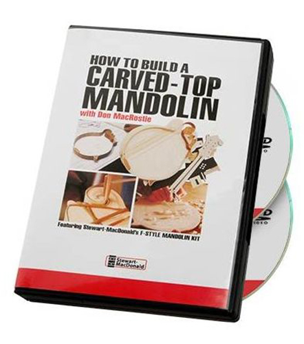 How to Build a Carved-Top Mandolin (DVD) with Don MacRostie
