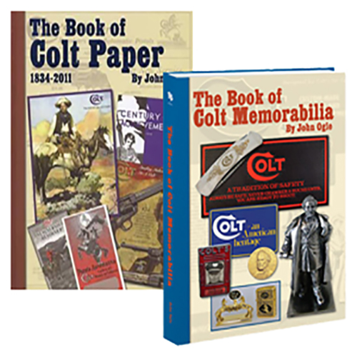 The Book of Colt Paper and Colt Memorabilia by John Ogle (2 Book set)