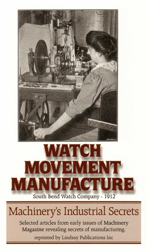 Watch Movement Manufacture: South Bend Watch Co, 1912