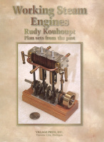 Working Steam Engines: Plan Sets by Rudy Kouhoupt