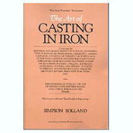 Art of Casting in Iron, The, by Simpson Bolland   - by Simpson Bolland.