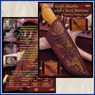 Custom Knife Sheaths with Chuck Burrows (DVD) - Chuck Burrows.