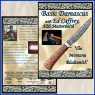 Basic Damascus with Ed Caffrey, ABS Mastersmith (DVD)