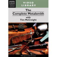 Complete Metalsmith, The, by Tim McCreight (DVD version) - with Tim McCreight.