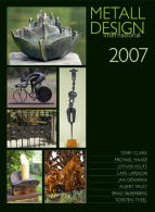 2007 International Metal Design Annual (Metall Design International 2007) by Peter Elgass - Features the work of 8 great smiths including Albert Paley.