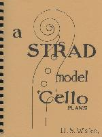 Strad Model 'Cello Plans, A, by H.S. Wake  - H.S. Wake