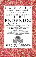 Antonio Lucio Vivaldi: Sonate a Violino e Basso per il Cembalo, Opera Seconda - Venice 1709, Amsterdam, not dated [A facsimile of the composer's autograph]