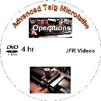 Advanced Taig Micro Lathe Operations with Jose Rodriguez (4 Hour DVD) - Advanced Micro Machining on the Taig Micro-Lathe