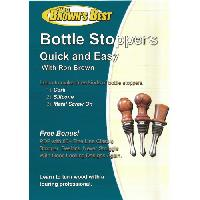 Bottle Stoppers Quick & Easy (Making Bottle Stoppers on the Wood Lathe) DVD