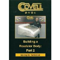 Building a Roadster Body Part 2 - Making the Turtledeck with Ron Covell (DVD)  - With Ron Covell
