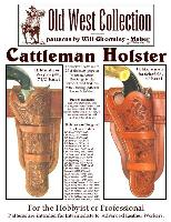 Cattleman Holster Pattern Pack - Patterns for Ten Holsters