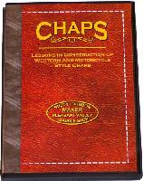 Chaps with Dusty Johnson: Lessons in Construction of Western & Motorcycle Style Chaps (DVD)  - with Dusty Johnson
