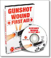 Gunshot Wound - First Aid with John Klatt (DVD)  - With John Klatt, Police and Navy Seal Instructor