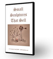 Small Sculptures that Sell: Americana Series I (DVD) with George Goehl - Americana Metal Sculpture Series #1