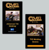 TIG Welding Set with Ron Covell: TIG Welding Basics & Advanced TIG Welding (2 DVD Set) - Obtain both great DVDs at a savings!