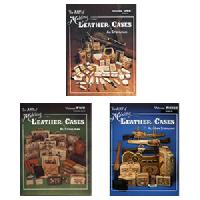 Art of Making Leather Cases 3 Volume Set, the, by Al Stohlman - All three volumes at a savings