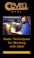Basic Techniques for Working with Steel with Ron Covell (DVD)  - One hour and forty minutes