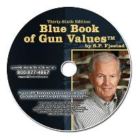 36th Edition Blue Book of Gun Values on CD-ROM - 7500 color images!!!