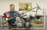 Building a Chopper Chassis with Ron Covell (DVD)  - With Ron Covell