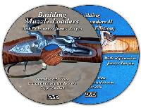 Building Muzzle Loaders I and II with James Turpin (2 DVD Set) - DVD 1: 202 minutes, DVD 2: 110 minutes