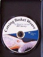 Carving Basket Weave with Master Carver Bill Janney (DVD) - Learn to carve basket weave pattern on guns, furniture, jewelry boxes, knives...