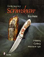 "Contemporary Scrimshaw by Eva Halat - Hardcover, 240 pages, 318 color & 390 b/w photos, 8 1/2"" x 11"""