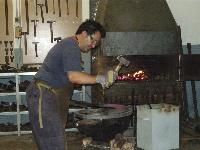 "Konstantinos  Tsatsis  - Blacksmith, Ipeiros, Greece <p><div class=""fb-like"" data-href=""http://www.artisanideas.com/product.jhtm?id=1663&cid=33"" data-send=""true"" data-layout=""button_count"" data-width=""450"" data-show-faces=""false"" data-font=""tahoma"" data-action=""recommend""></div>"