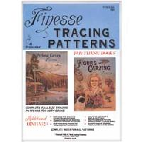Finesse Tracing Patterns Pack by Al Stohlman - Full Size Tracing Patterns for the Figure Carving with and Pictorial Carving Finesse Books